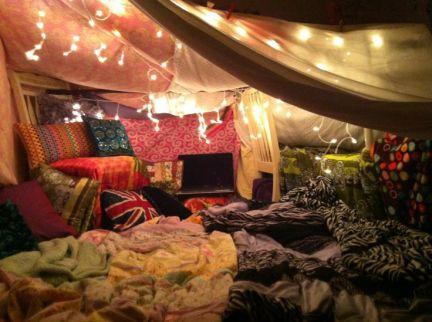 The biggest blanket fort ever